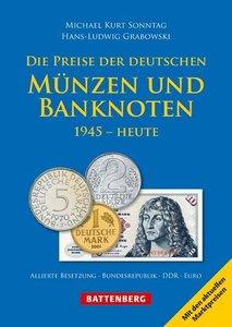 Die Preise der deutschen Münzen und Banknoten