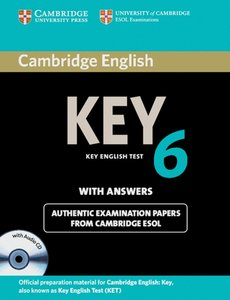 Cambridge Key English Test 6. Student's Book Pack (Student's Boo