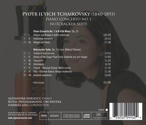 Klavierkonzert 1,op.23/Nußknacker-Suite Op.