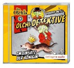 Olchi-Detektive 04. Im Einsatz der Königin (CD)