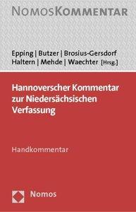 Hannoverscher Kommentar zur Niedersächsischen Verfassung