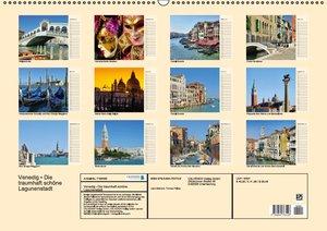 Venedig - Die traumhaft schöne Lagunenstadt (Wandkalender 2016 D