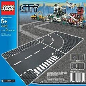 LEGO City 7281 - Kurve/T-Kreuzung
