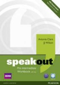 Speakout Pre-intermediate Workbook (with Key) and Audio CD