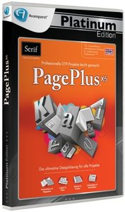 Serif PagePlus X5 - Avanquest Platinum Edition