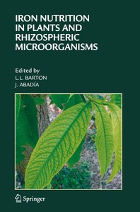 Iron Nutrition in Plants and Rhizospheric Microorganisms