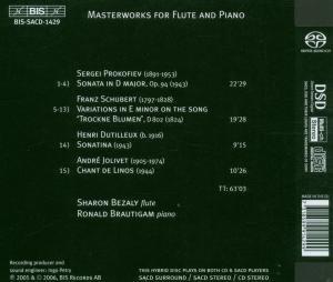 Meisterwerke Für Flöte Und Klavier