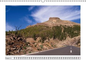Tenerife - Magical Landscapes / UK-Version (Wall Calendar 2015 D