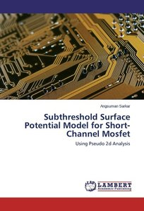 Subthreshold Surface Potential Model for Short-Channel Mosfet