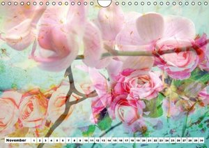 Dreamy Blossom Dance (Wall Calendar perpetual DIN A4 Landscape)