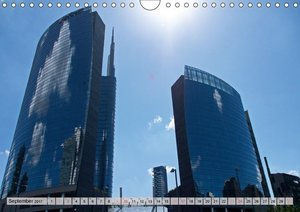 Neue Architektur in Mailand (Wandkalender 2017 DIN A4 quer)