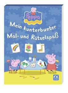 Peppa - Mein kunterbunter Mal- und Rätselspaß