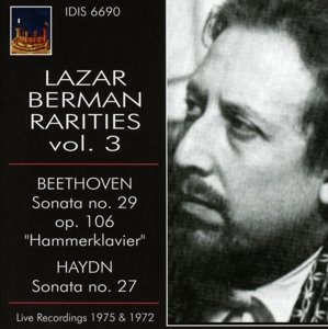 Lazar Berman Raritäten vol.3
