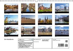 Die Niederlande (Wandkalender 2016 DIN A3 quer)