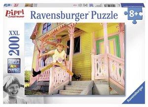 Pippi Langstrumpf 4. Puzzle 200 Teile XXL