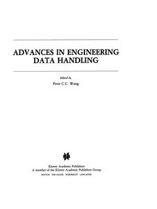 Advances in Engineering Data Handling