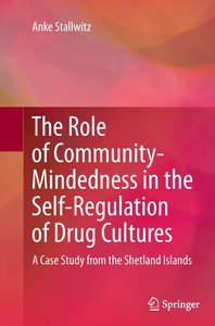 The Role of Community-Mindedness in the Self-Regulation of Drug