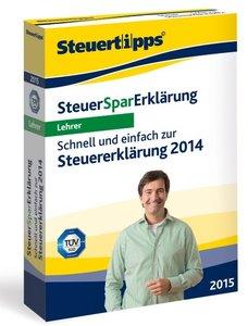 Steuer-Spar-Erklärung Lehrer 2015