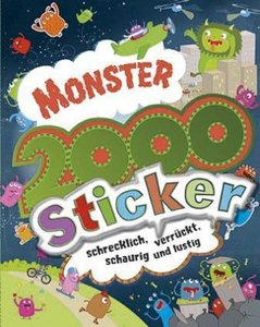 Monster 2000 Sticker