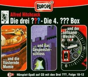 Die drei ??? Box 04. Folgen 10-12 (drei Fragezeichen). 3 CDs