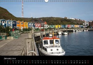 Helgoland Idyllic North Sea Island (Wall Calendar 2016 DIN A3 La
