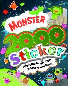 Monster 2000 Sticker