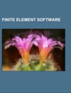 Finite element software