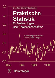 Praktische Statistik für Meteorologen und Geowissenschaftler