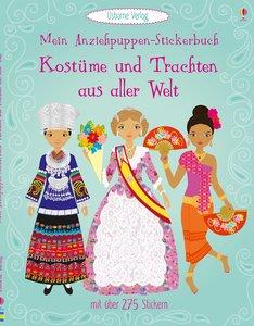 Mein Anziehpuppen-Stickerbuch: Kostüme und Trachten aus aller We