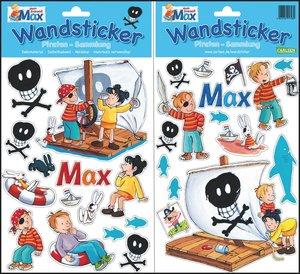 Meine Max Wandsticker: Piraten-Sammlung