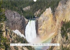 Yellowstone 2015 / CH-Version (Wandkalender 2015 DIN A3 quer)