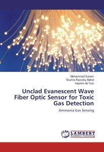 Unclad Evanescent Wave Fiber Optic Sensor for Toxic Gas Detectio