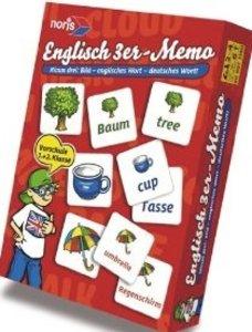 Englisch - 3er Memo