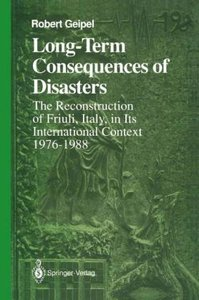 Long-Term Consequences of Disasters