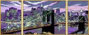 Skyline von New York. Malen nach Zahlen Serie Premium