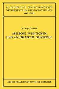 Abelsche Funktionen und Algebraische Geometrie
