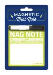 Knock Knock Magnet Mini Note: Nag Note