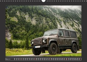 Defender on Tour / UK-Version (Wall Calendar 2015 DIN A3 Landsca