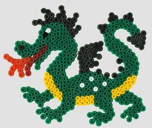 Hama 305 - Stiftplatte Drache, 16 x 13 cm