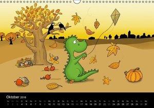 Der kleine Drache (Wandkalender 2016 DIN A3 quer)