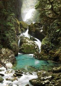 Mackay Falls, Neuseeland. Puzzle 1000 Teile