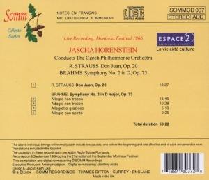 Horenstein Dirigiert Die Tschechische Philharmonie