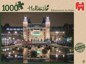 Jumbo Spiele 18351 - Rijksmuseum in der Nacht, 1000 Teile
