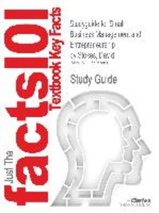 Studyguide for Small Business Management and Entrepreneurship by