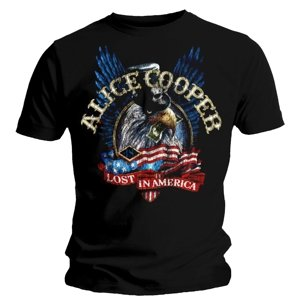 Lost In America (T-Shirt,Schwarz,Größe L)