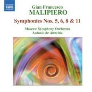 Sinfonien 5,6,8+11