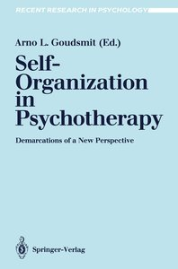 Self-Organization in Psychotherapy