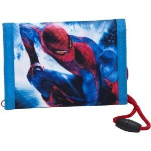 Joy Toy 860131 - Spiderman: Brieftasche zum Umhängen 8x12 cm