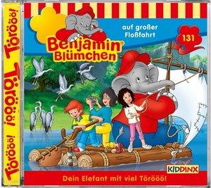 Benjamin Blümchen 131. Auf großer Floßfahrt
