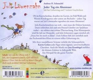 Juli Löwenzahn: Jeder Tag ein Abenteuer